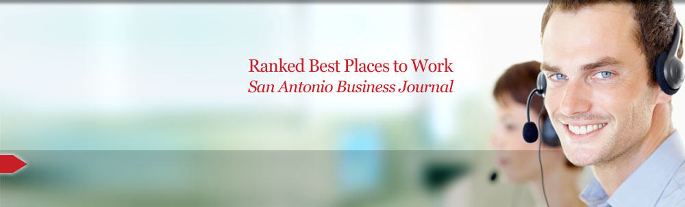 Ranked best place to work, San Antonio Business Journal
