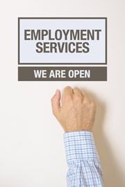 employment services, how to find an office job