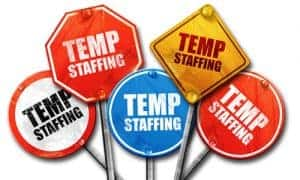 temporary employment, temporary staffing position