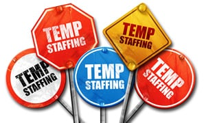 temporary staffing position