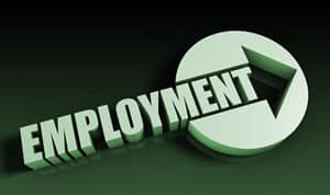 job placement services, finding an office job
