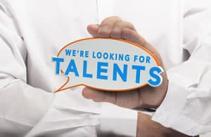 temporary employment agency, finding an office job