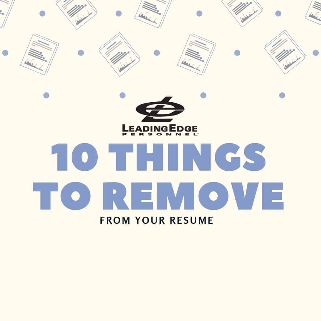 10-things-to-remove-from-your-resume