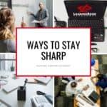 stay sharp during unemployment